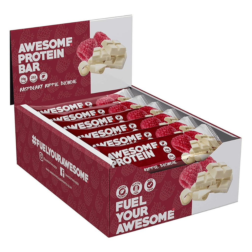 Awesome Supplements Vegan Protein Bar Box (12 Bars)