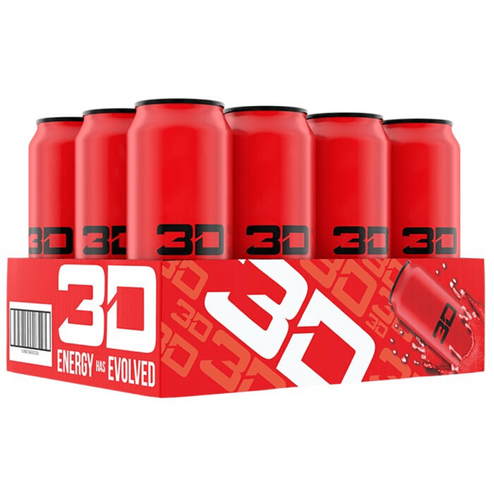 3D Energy Drink Red Candy Punch, Energy Drinks, 3D Energy, Protein Package Protein Package Pick and Mix Protein UK