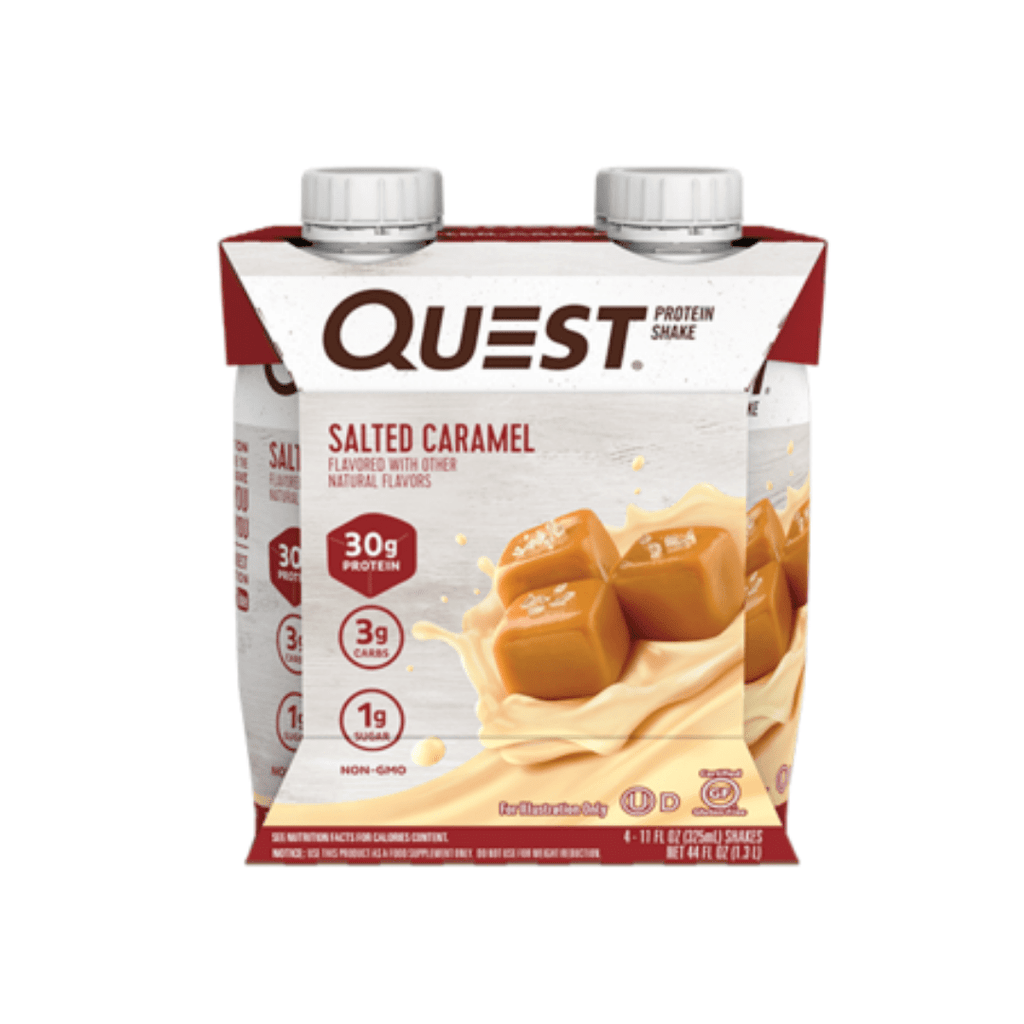 Quest Nutrition USA Protein Shake Box (4 Bottles), Protein Shakes, Quest Nutrition, Protein Package Protein Package Pick and Mix Protein UK