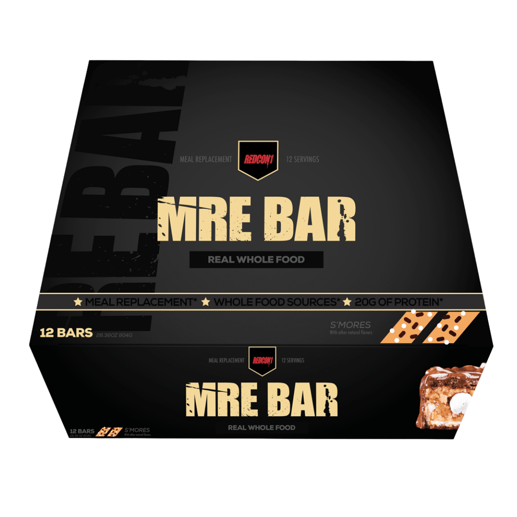 REDCON 1 MRE Protein Bar Box (12 Bars)
