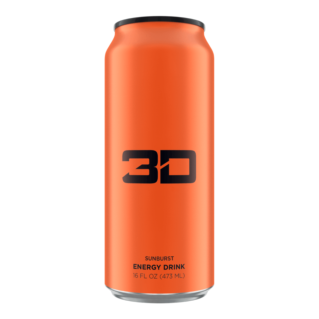 3D Energy Drink Orange Sunburst, Energy Drinks, 3D Energy, Protein Package Protein Package Pick and Mix Protein UK