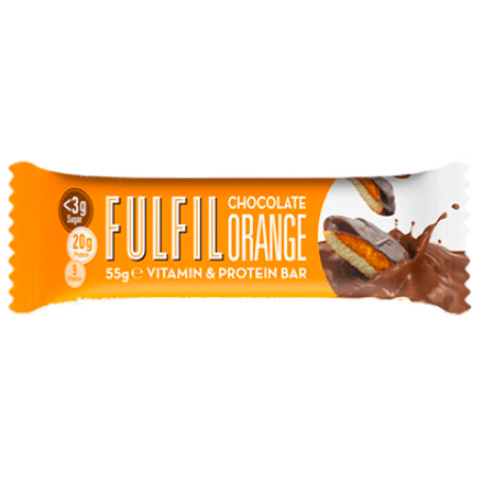 Fulfil Nutrition Vitamin & Protein Bar Chocolate Orange, Protein Bars, Fulfil Nutrition, Protein Package Protein Package Pick and Mix Protein UK