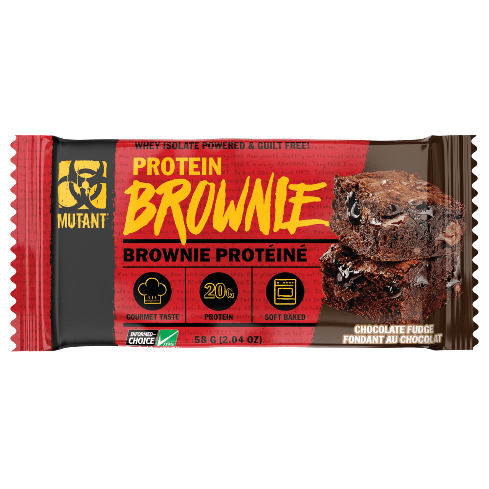 Mutant Protein Brownie Chocolate Fudge - Protein Package