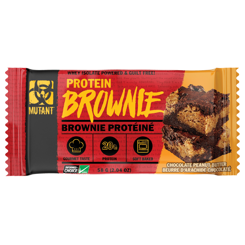 Mutant Protein Brownie Chocolate Peanut Butter, Protein Brownie, Mutant, Protein Package Protein Package Pick and Mix Protein UK