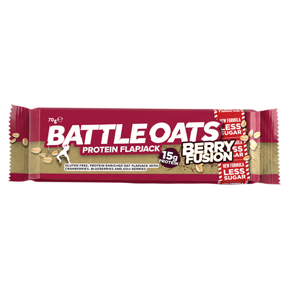 Battle Oats Protein Flapjack Berry Fusion, Protein Flapjacks, Battle Snacks, Protein Package Protein Package Pick and Mix Protein UK