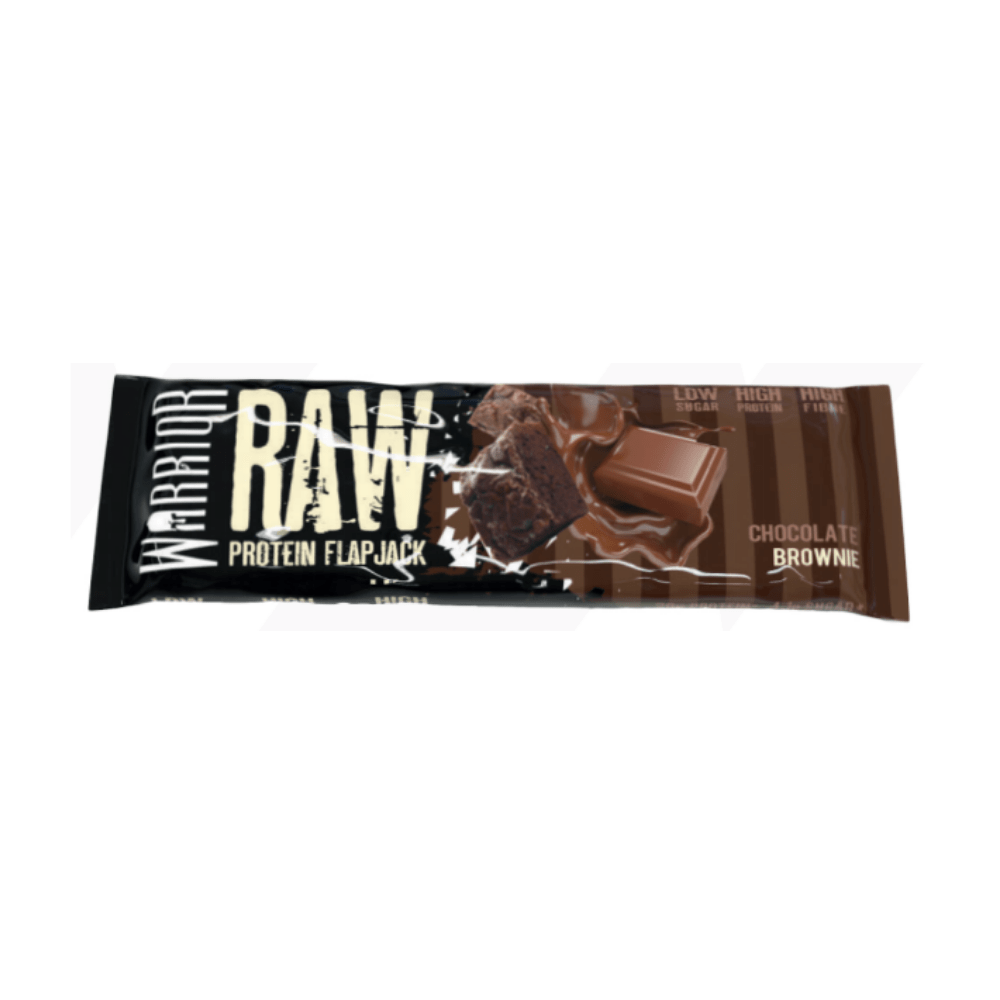 Warrior Raw Protein Flapjack Chocolate Brownie, Protein Flapjacks, Warrior, Protein Package Protein Package Pick and Mix Protein UK