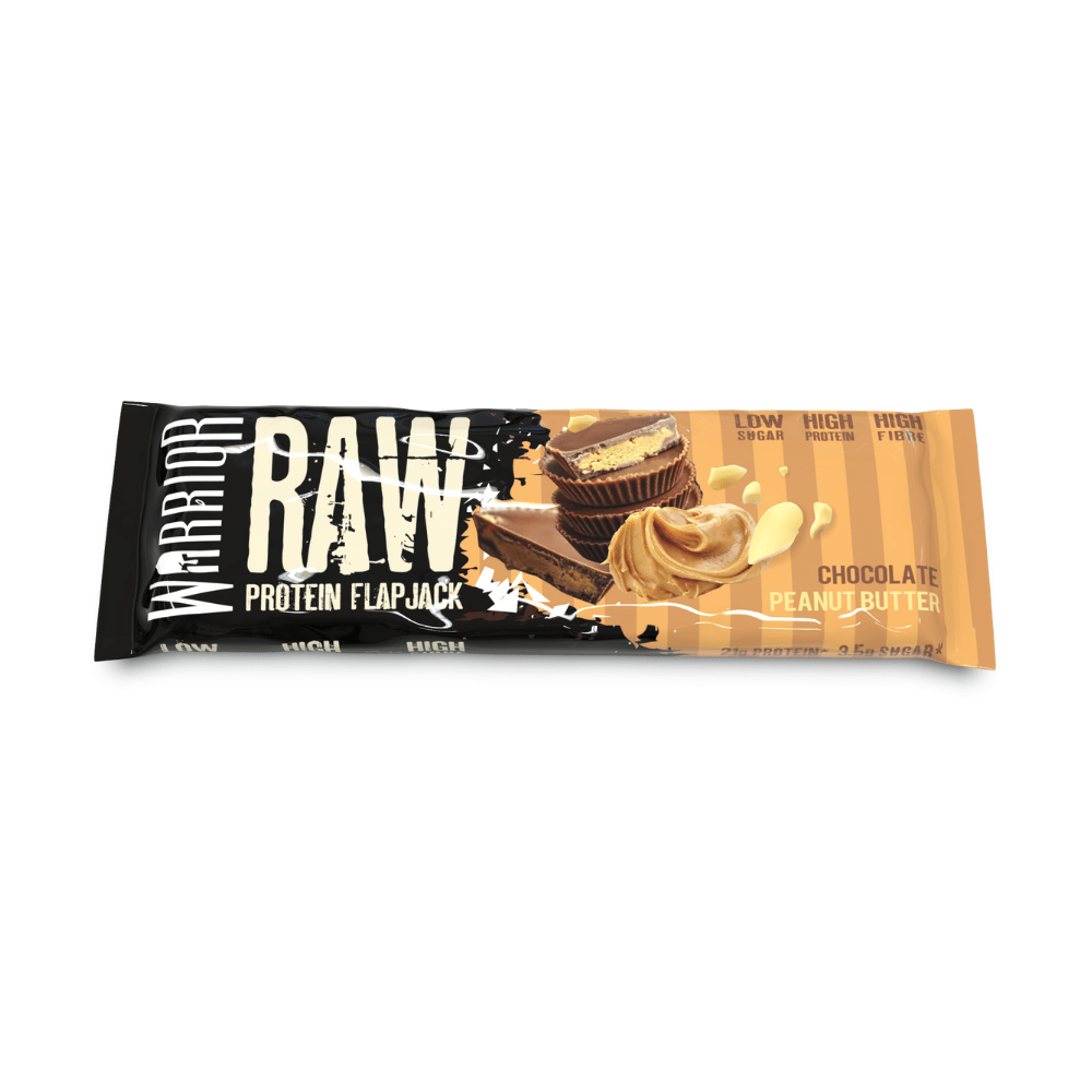 Warrior Raw Protein Flapjack Chocolate Peanut Butter, Protein Flapjacks, Warrior, Protein Package Protein Package Pick and Mix Protein UK