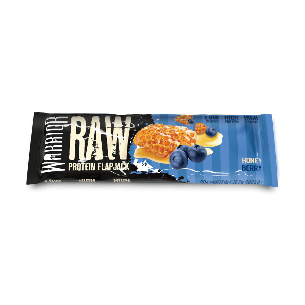 Warrior Raw Protein Flapjack Honey Berry, Protein Flapjacks, Warrior, Protein Package Protein Package Pick and Mix Protein UK