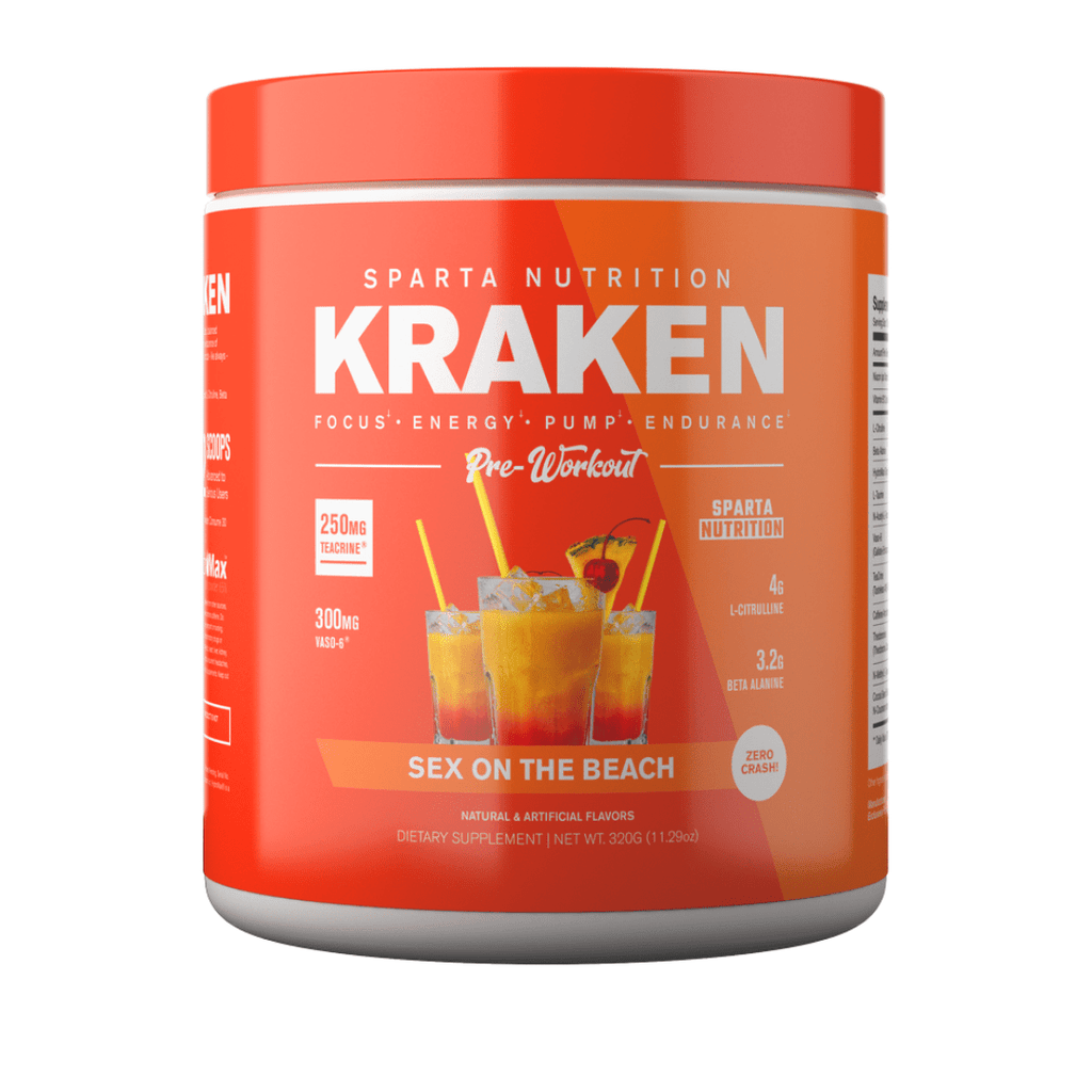 Sparta Nutrition Kraken Pre Workout - Protein Package