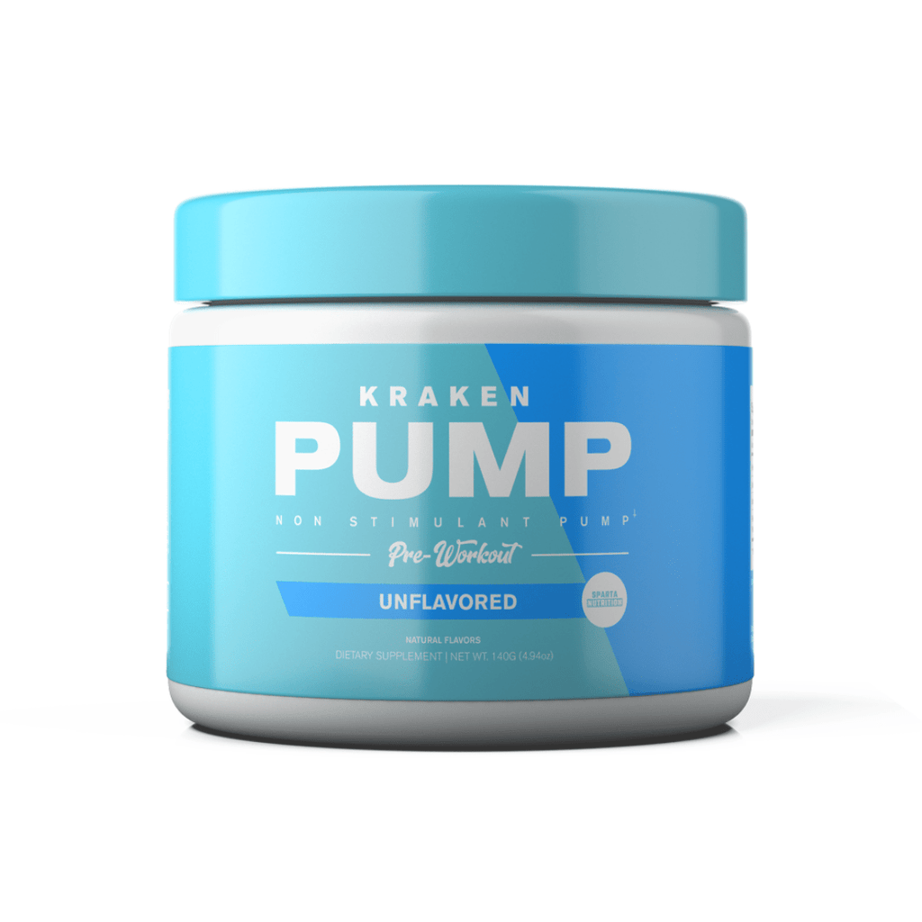 Sparta Nutrition Kraken Pump Pre Workout - Protein Package