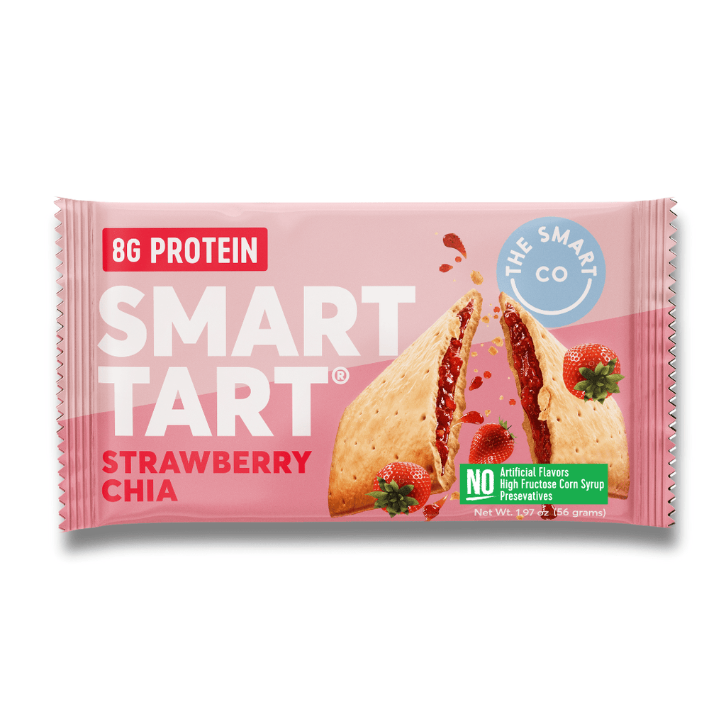 The Smart Co Protein Smart Tart Strawberry Chia, Protein Bars, The Smart Co, Protein Package Protein Package Pick and Mix Protein UK