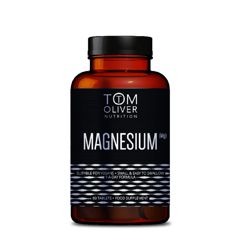 Tom Oliver Nutrition Magnesium Capsules, Supplements, Tom Oliver Nutrition, Protein Package Protein Package Pick and Mix Protein UK