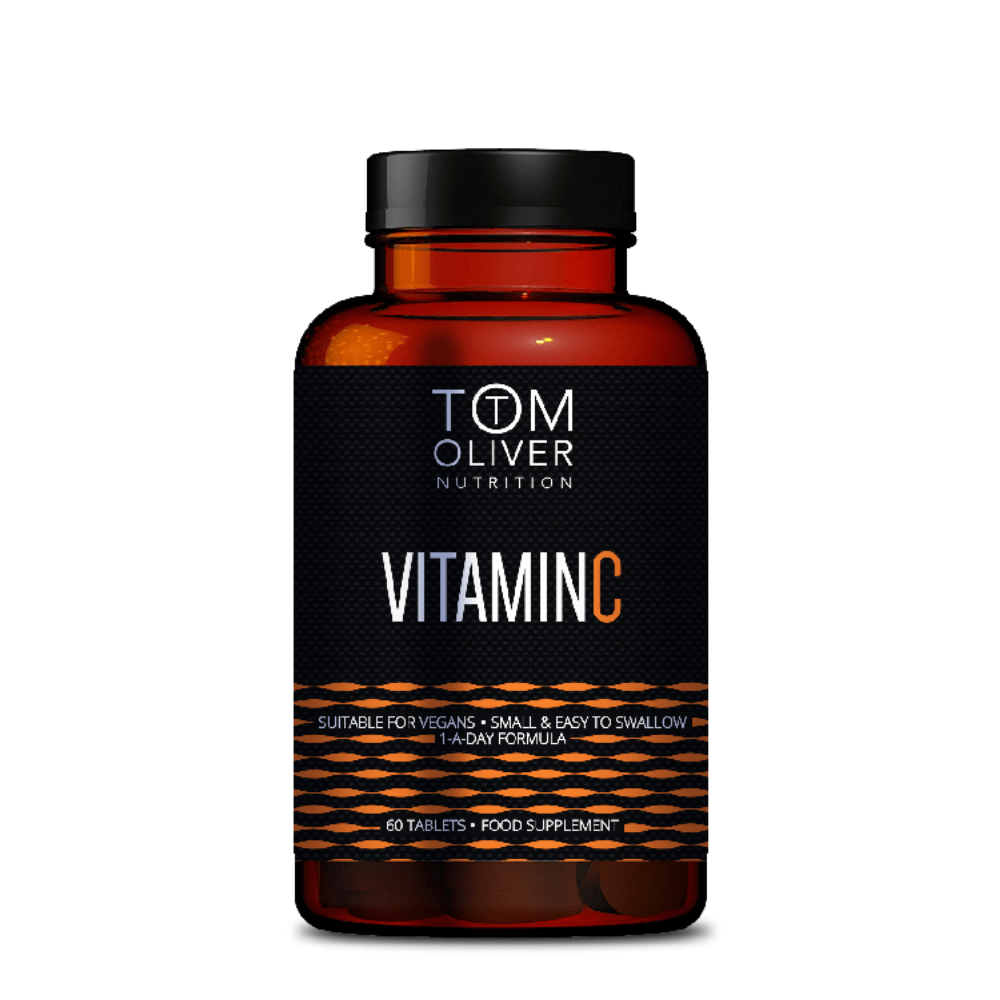 Tom Oliver Nutrition Vitamin C Capsules, Supplements, Tom Oliver Nutrition, Protein Package Protein Package Pick and Mix Protein UK