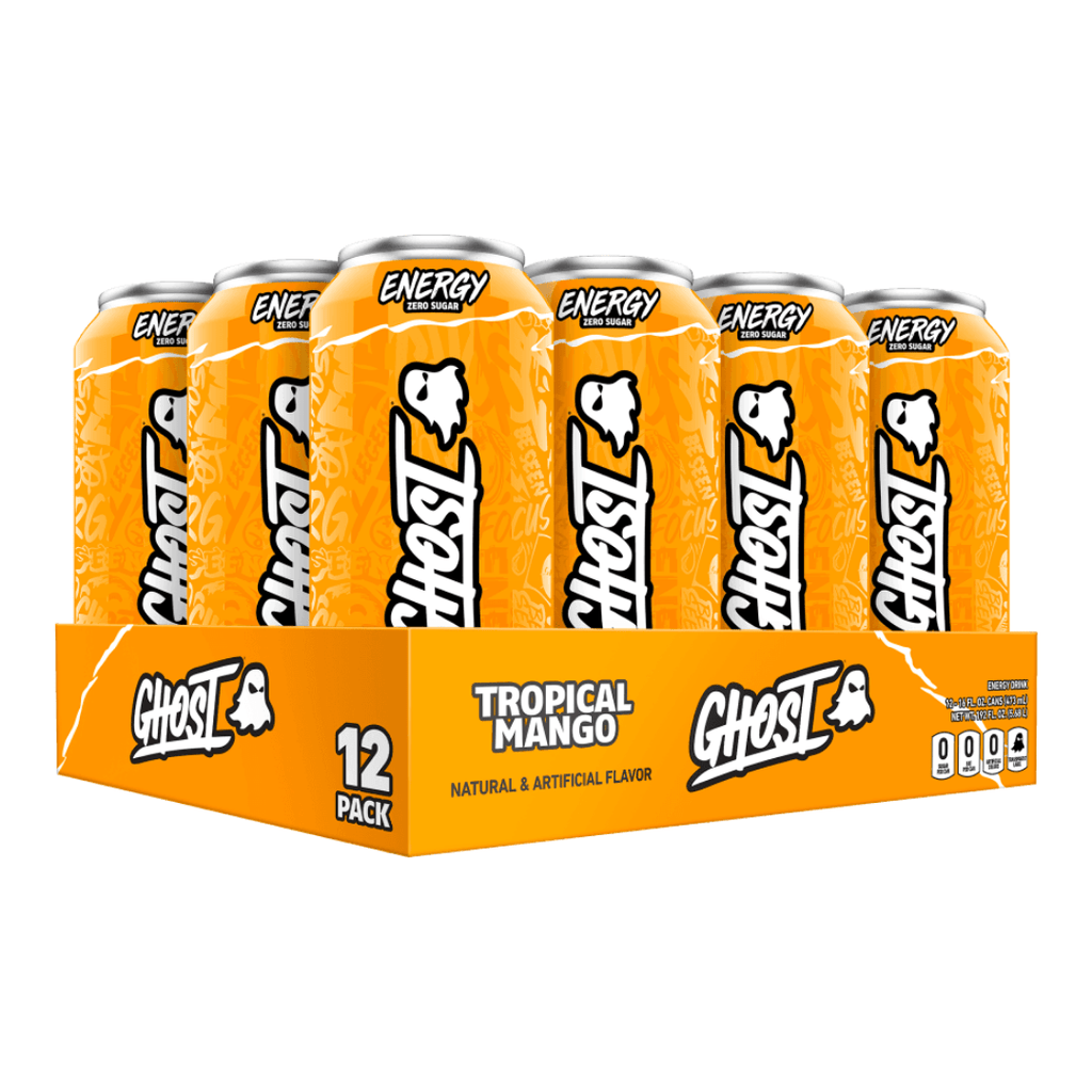 Ghost Lifestyle Zero Sugar Energy Drink Tropical Mango
