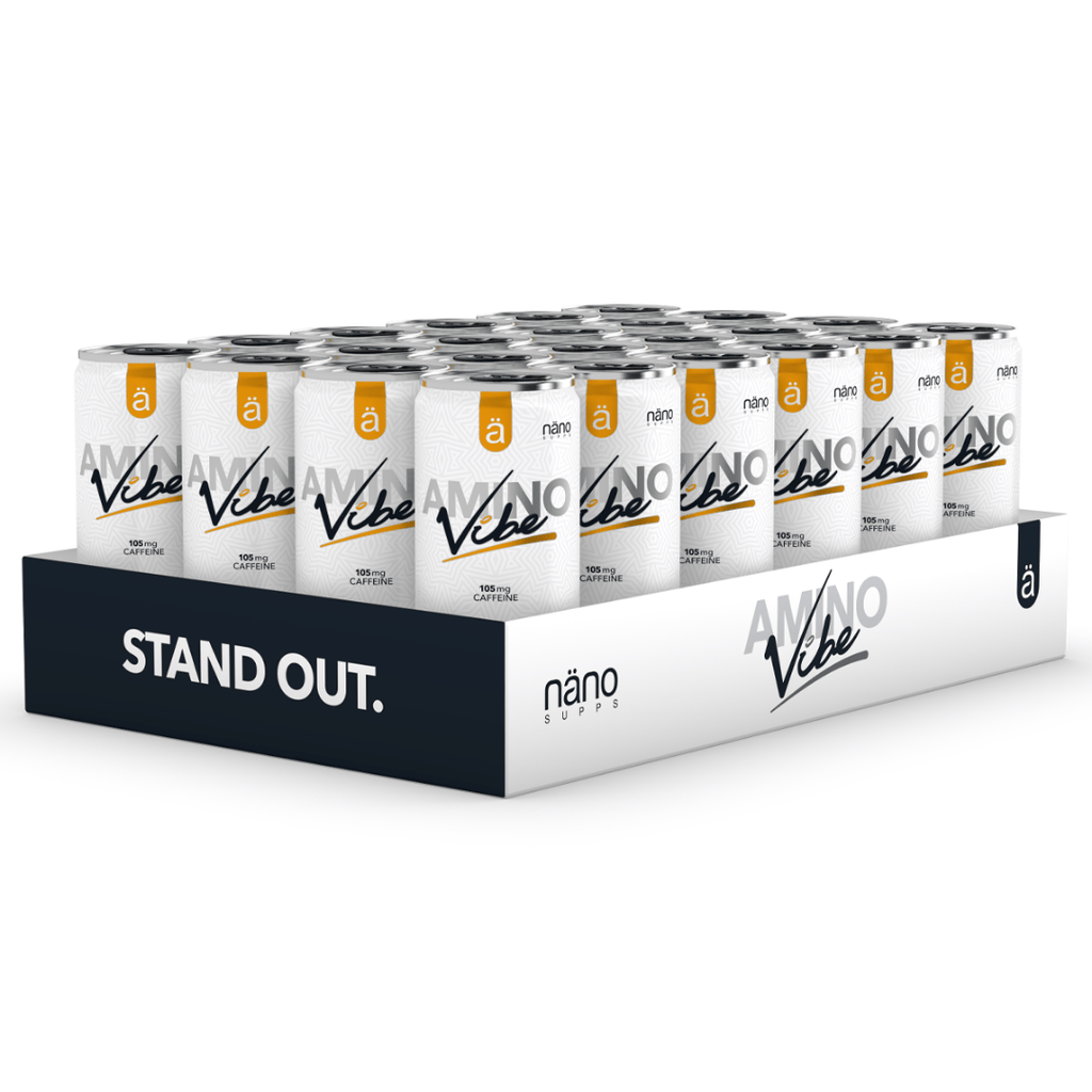 Nano Supps Amino Vibe Energy Drink Box (24 Cans)