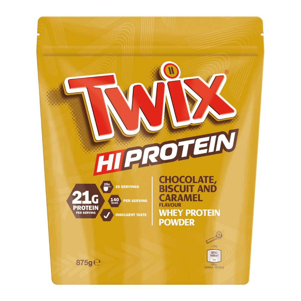 Twix Hi-Protein Whey Protein Powder, Protein Powder, Twix, Protein Package Protein Package Pick and Mix Protein UK