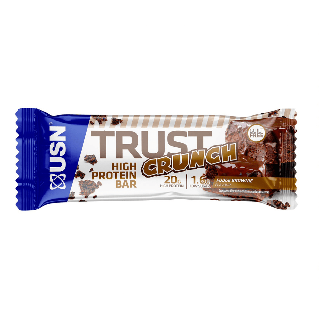USN Trust Crunch Protein Bar Fudge Brownie, Protein Bars, USN, Protein Package Protein Package Pick and Mix Protein UK