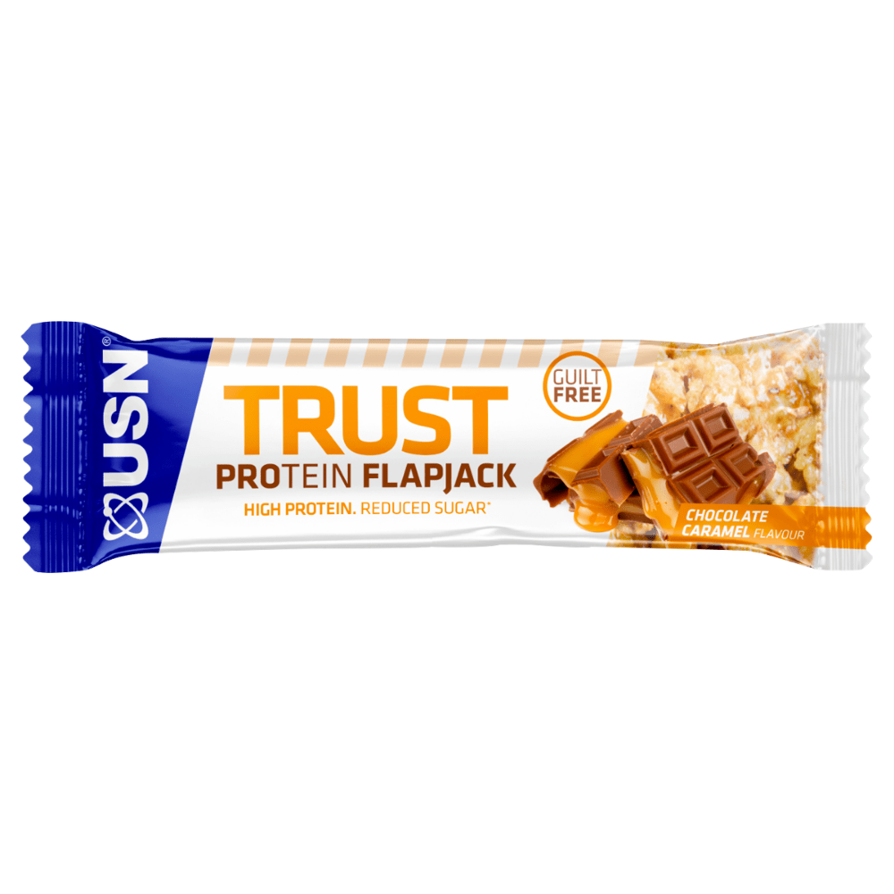 USN Trust Protein Flapjack Chocolate Caramel, Protein Flapjacks, USN, Protein Package Protein Package Pick and Mix Protein UK