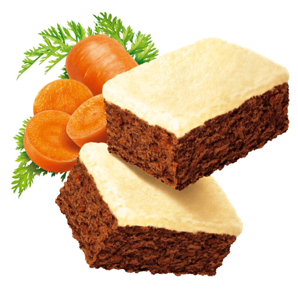Fitbakes Low Sugar Protein Cake Carrot (4 Cakes)