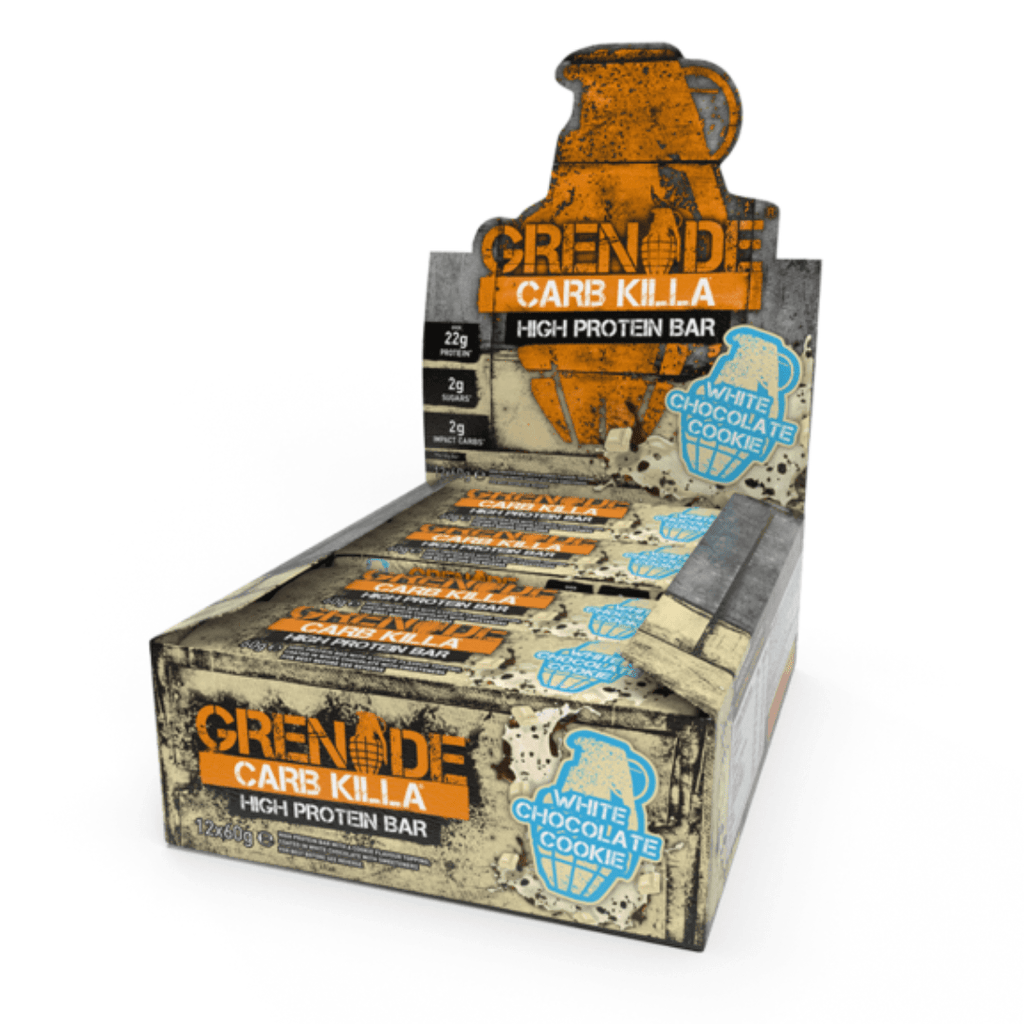 Grenade Carb Killa Protein Bar Box (12 Bars), Protein Bars, Grenade, Protein Package Protein Package Pick and Mix Protein UK