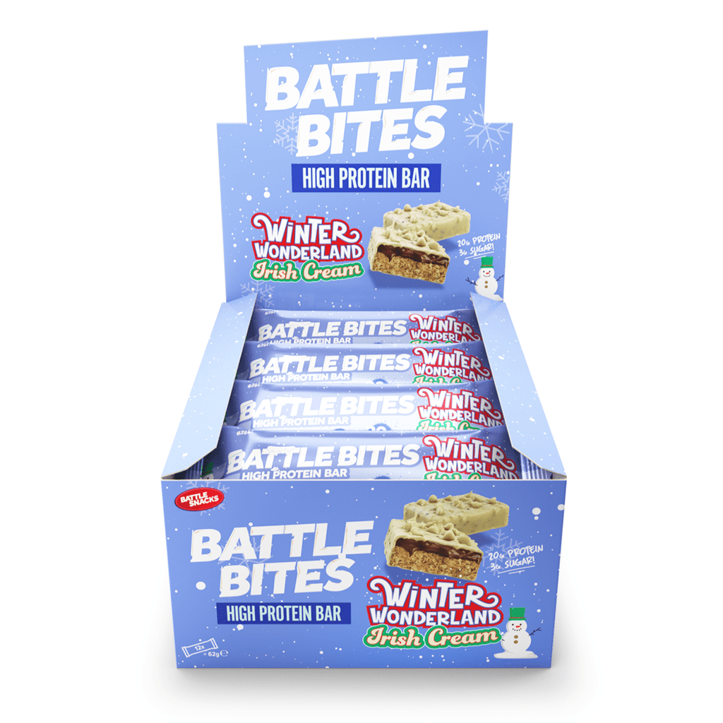 Battle Snacks Protein Battle Bites Winter Wonderland Irish Cream