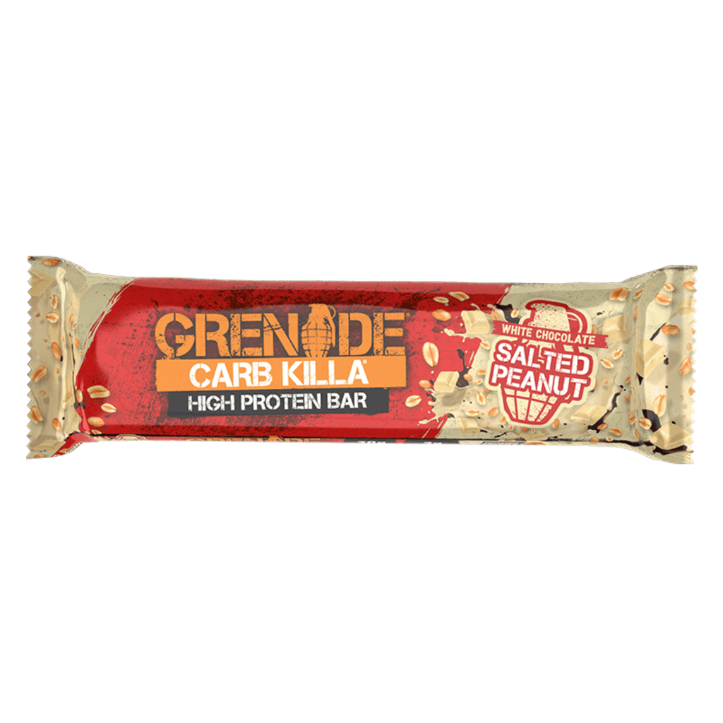 Grenade Carb Killa Protein Bar White Chocolate Salted Peanut - Protein Package