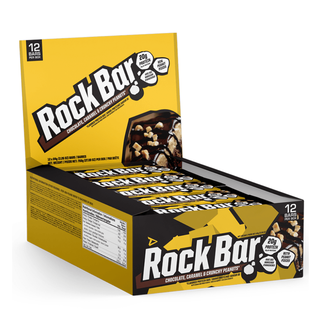 Dedicated Nutrition Rock Protein Bar Chocolate Crunchy Peanuts, Protein Bars, Dedicated Nutrition, Protein Package Protein Package Pick and Mix Protein UK