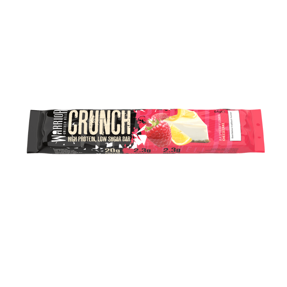 Warrior Crunch Protein Bar Raspberry Lemon Cheesecake, Protein Bars, Warrior, Protein Package Protein Package Pick and Mix Protein UK