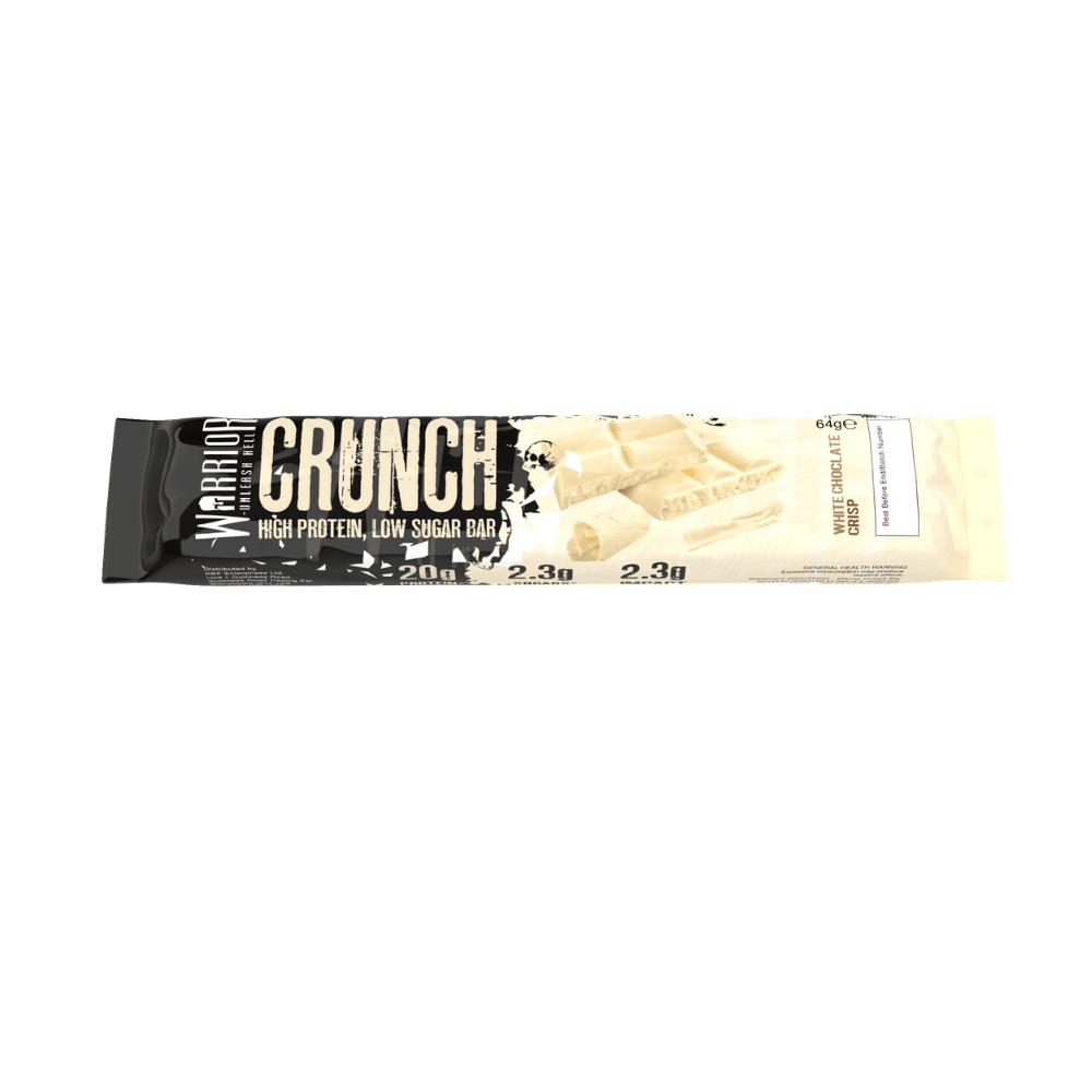 Warrior Crunch Protein Bar White Chocolate Crisp, Protein Bars, Warrior, Protein Package Protein Package Pick and Mix Protein UK