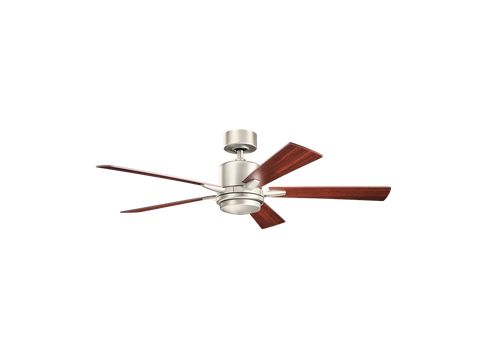 52 Inch Lucian LED Fan Brushed Nickel