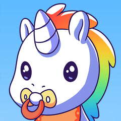 Unstable Unicorns | Rainbow Baby Unicorn Mobile Wallpaper