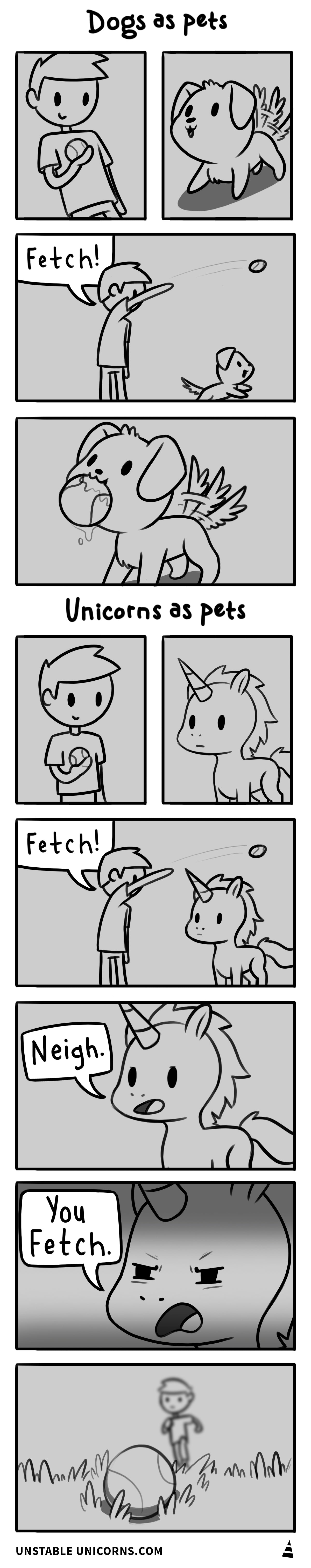 Dogs vs Unicorns