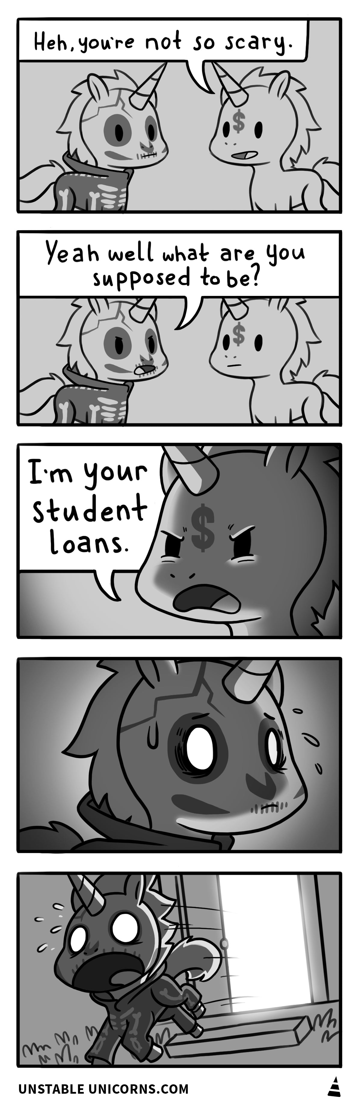 Student loans are scary.