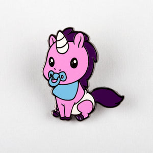 Baby Unicorn Pin Unstable Unicorns