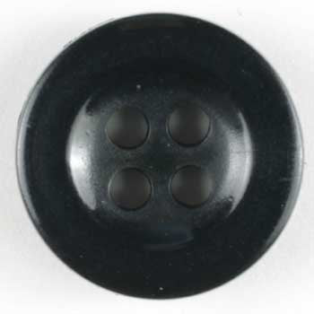 Black Polyamide Button