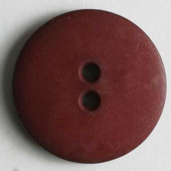 Wine Red Polyamide Button