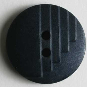 Navy Blue Polyamide Button