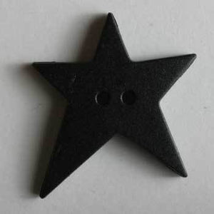 Black Star Polyamide Button
