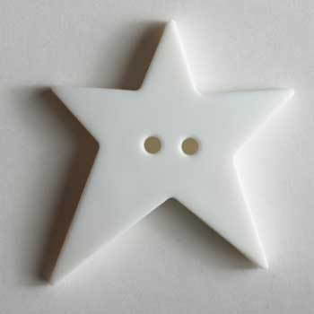 White Star Polyamide Button