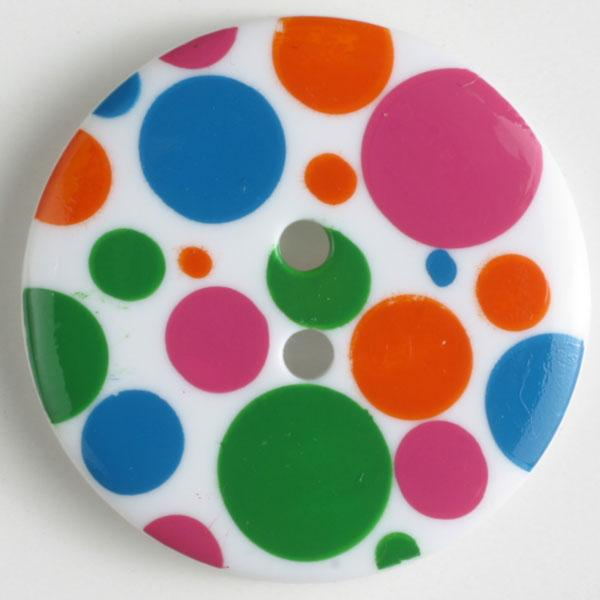 Polka Dot Novelty Button