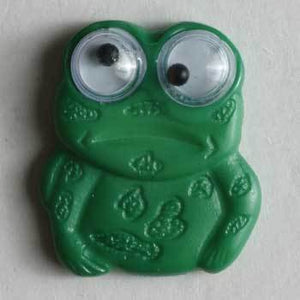 Frog Novelty Button