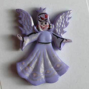 Lilac Angle Novelty Button
