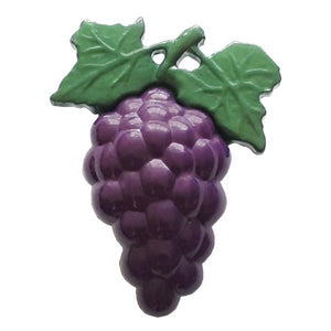 Grapes Novelty Button