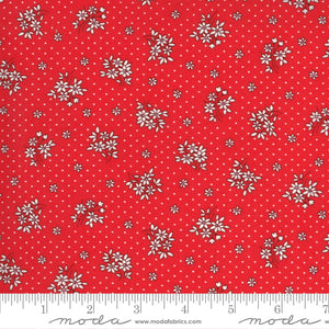 30s Playtime Cotton Fabric - Scarlet