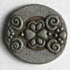 Antique Tin Full Metal Button