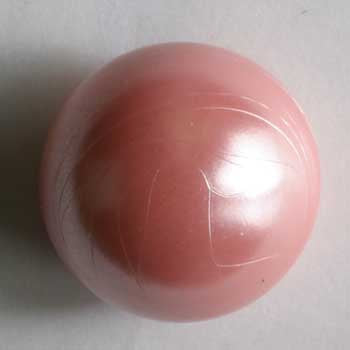 Pink Polyamide Button