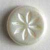 White Polyamide Button
