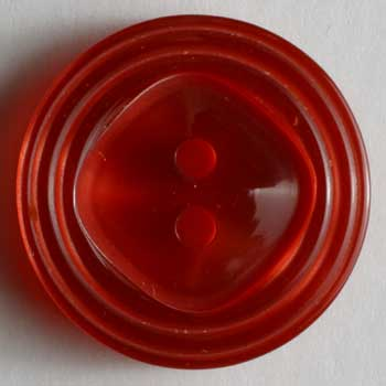 Red Polyester Button