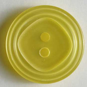 Yellow Polyester Button