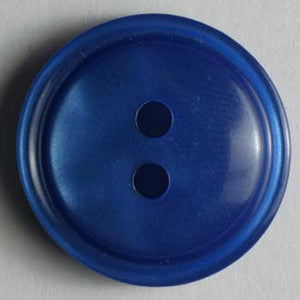 Blue Polyester Button
